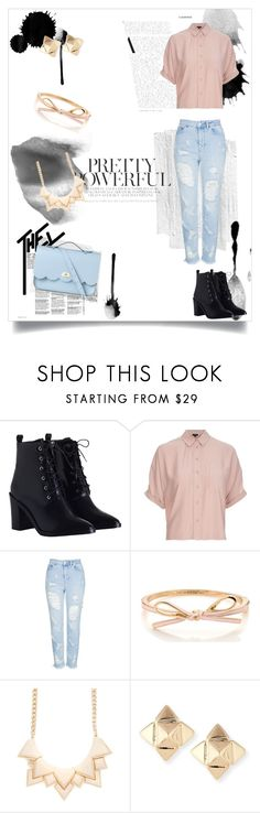 """""""Pretty Powerful"""" by itz-meh-liz on Polyvore featuring Zimmermann, Topshop, Valentino and The Cambridge Satchel Company"""