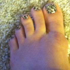 Sally Hansen black lace nail polish strips