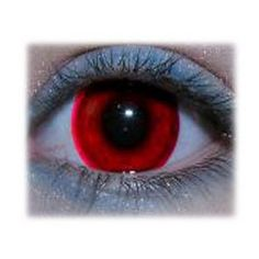 Red halloween party contacts