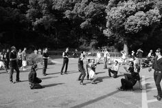 Rockabillys in Yoyogi Park