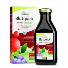 HERBARIA bio eliksir ziołowy BLUTQUICK 250ml