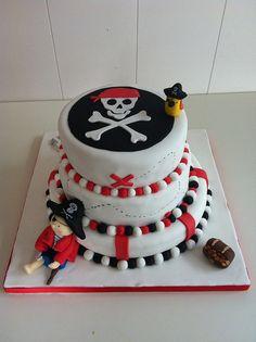 Un pastel para piratas!!