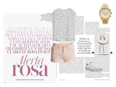 """""""Bez naslova #51"""" by esma10 ❤ liked on Polyvore featuring Pieces, MANGO, Converse, Charlotte Russe and Michael Kors"""