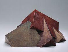 """brucebeasley - Uplift - Cast Bronze, 1992 7"""" h x 18"""" w x 13"""" d"""