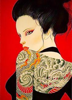 Beautiful back shoulder tattoo. #Art #Design #Tattoo #Drawing #Sculpture #Digital #3D #Holographic #GraphicDesign #Body #Arm #Forearm #Leg #Shoulder #Chest #Back #Hands #Head #Colors #Skin #Ink #ChrisGarver #AmiJames #ChrisNuñez #KatvonD #Skill #Models #Fashion #Artists #Media #Clothes