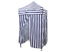 Portable Blue Stripe Tent Changing Room C&ing Cabana Outdoor Pop Up Canopy New  sc 1 st  Pinterest & Portable Cabana Stripe Tent Privacy Changing Room Pool Camping ...
