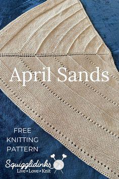 Free Knit Shawl Patterns, Free Pattern, Knitting Patterns, Crochet Patterns, Knit Or Crochet, Easy Crochet, Free Crochet, Easy Knitting, Knitted Shawls