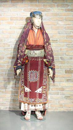 "Turkish women's traditonal dress. From ""KadinKultur"" museum."
