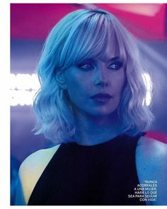 Image result for atomic blonde-outfit sweater dress v neck
