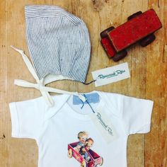 Little outfit going out to a very little customer! The bonnets can be made with or with out brims please just ask