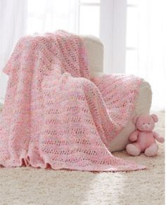 Dippity Dots Baby Blanket