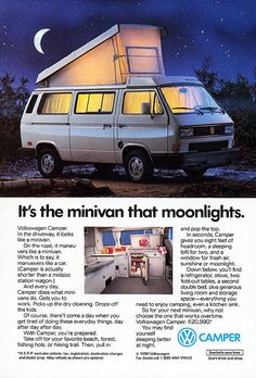 vanagon could just be the perfect all around bus/car/van/camper available,throw in the syncro all wheel drive package and it's complete