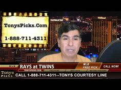 Tampa Bay Rays vs. Minnesota Twins MLB Betting Line Odds Pick Prediction...