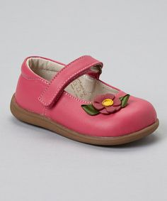 Take a look at this Hot Pink Emily Mary Jane by See Kai Run on #zulily today!