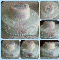 Elsa from Frozen cake