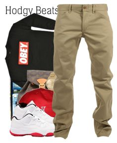 """5/19 .. Guy Set"" by cjasmyne ❤ liked on Polyvore featuring Juicy Couture, OBEY Clothing, Louis Vuitton and Woolrich"