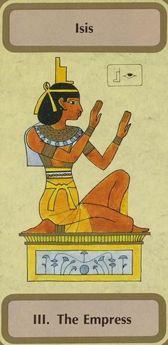 III. The Empress (Isis) - Tarot of Transition by Unknown