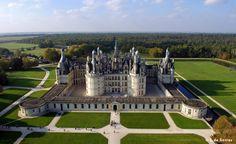 Знаменитые замки Луары, да и всей Франции - Шенонсо, Шамбор, Блуа ...