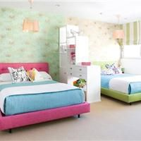 Kids rooms- love it divided for privacy