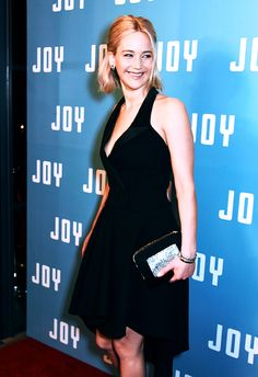 Jennifer Lawrence attends a special screening of 'Joy' at the Ham Yard Hotel on December 17, 2015 in London, England.