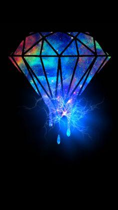 Iridescent Diamond