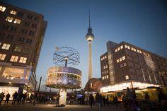 Alexander Platz Berlin Fall der Berliner Mauer