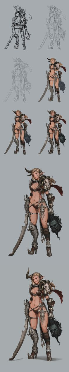 ArtStation - slayer, dae jun park