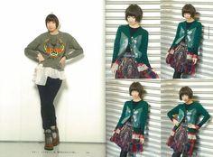 AKB48,SKE48,NMB48,HKT48【おしゃれ総選挙!/Fashion Book】 - voz_48 (22).jpg - Minus