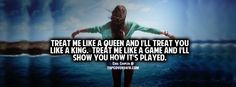 Get our best Treat Me Like A Queen facebook covers for you to use on your facebook profile.Treat me like a queen and i will treat you like a lion.