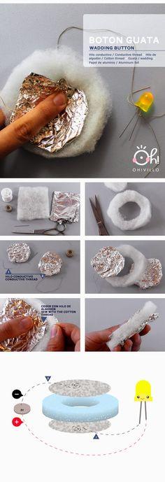 E-textiles: Botón guata 02