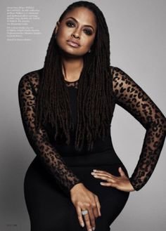 Ava DuVernay by Paola Kudacki for ELLE Magazine's Women In Hollywood Issue