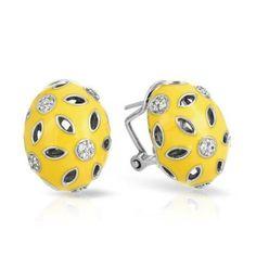 Charlotte Yellow Earrings