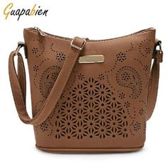 3e78595f19 Guapabien Women Hollow Out Bucket Crossbody Shoulder Bag Buy Bags Online,  Bags Online Shopping,
