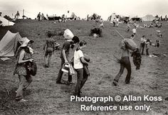 """Woodstock """"going home"""" photograph, 1969"""