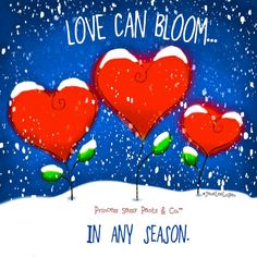 love can bloom in any season