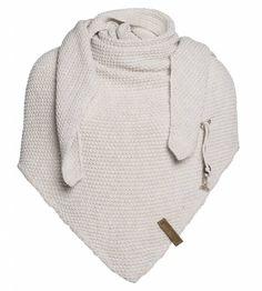 Knit Factory Coco Omslagdoek/Sjaal Beige