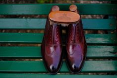 """""""The Cherry Orchard""""  A new Patina by Dandy Shoe Care for our client from Madrid: MrJ.L.G."""
