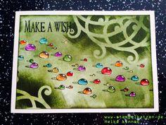 Gutschein Karte - Make a wish