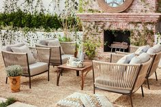 Julianne Hough Invites You to See Her Newly Revamped Backyard - The Fireplace - from InStyle.com