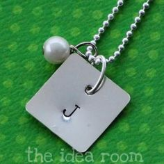 homemade necklace DIY