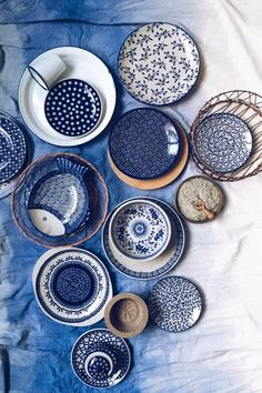 Bunzlauer Keramik- neueste Kollektion. Latest Collection of Polish Pottery allready in my shop ;) www.homemode.de (Mix Match)