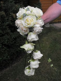 Bride's Wired Bouquet by Brig's Flowers