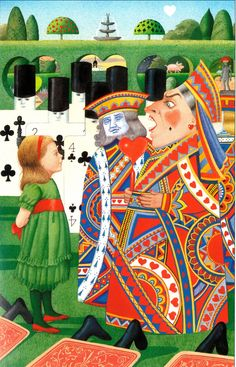 Anthony Browne on how he re-imagined Alice in Wonderland by Lewis Carroll 150 years later