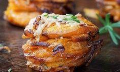 Cup Cakes de Boniatos y Patatas con Romero | Vinos, destilados, recetas & Gourmets
