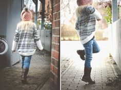 lovely cardigan - for kids - sewing - diy - german