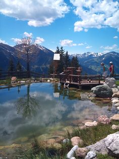 little pond at #Panorama Alm in #Saalbach