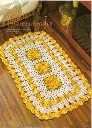 Resultado de imagem para tapetes em croche coloridos