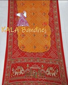 Bandhani Saree, Silk Sarees, Embroidery Saree, Hand Embroidery, Cotton Silk, Silk Satin, Tie And Dye, End Of Season Sale, Arts And Crafts