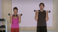 Arms and Shoulders Workout with Brooke Burke - Workout Wednesday with Mo...