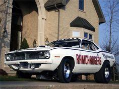 1970 'Cuda Ramchargers car